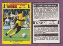 West Bromwich Albion Garth Crooks England 12